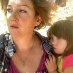 deaf mom, meriah nichols with daughter with down syndrome