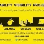 The Power of Narrative: Story Corps & The Disability Visibility Project