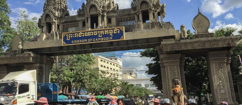 Cambodia from Bangkok Border Crossing