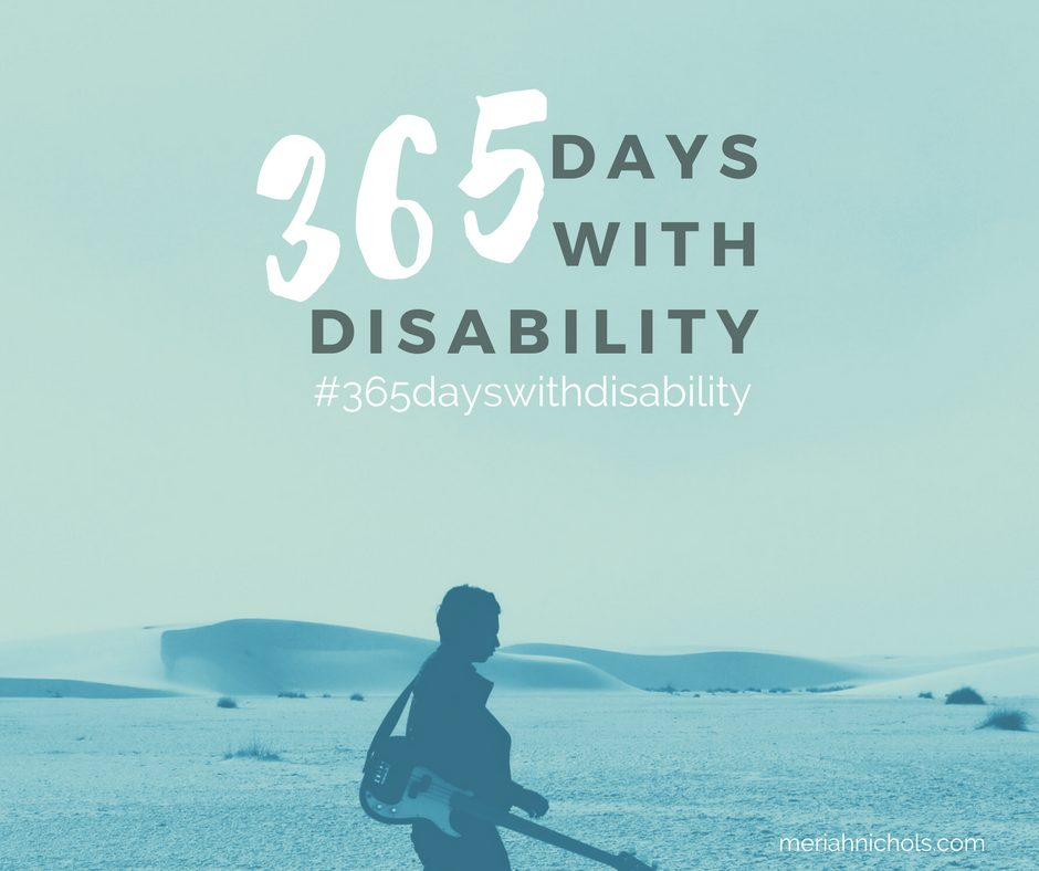 365 days with disability: the instagram based project that is by and for the disability community