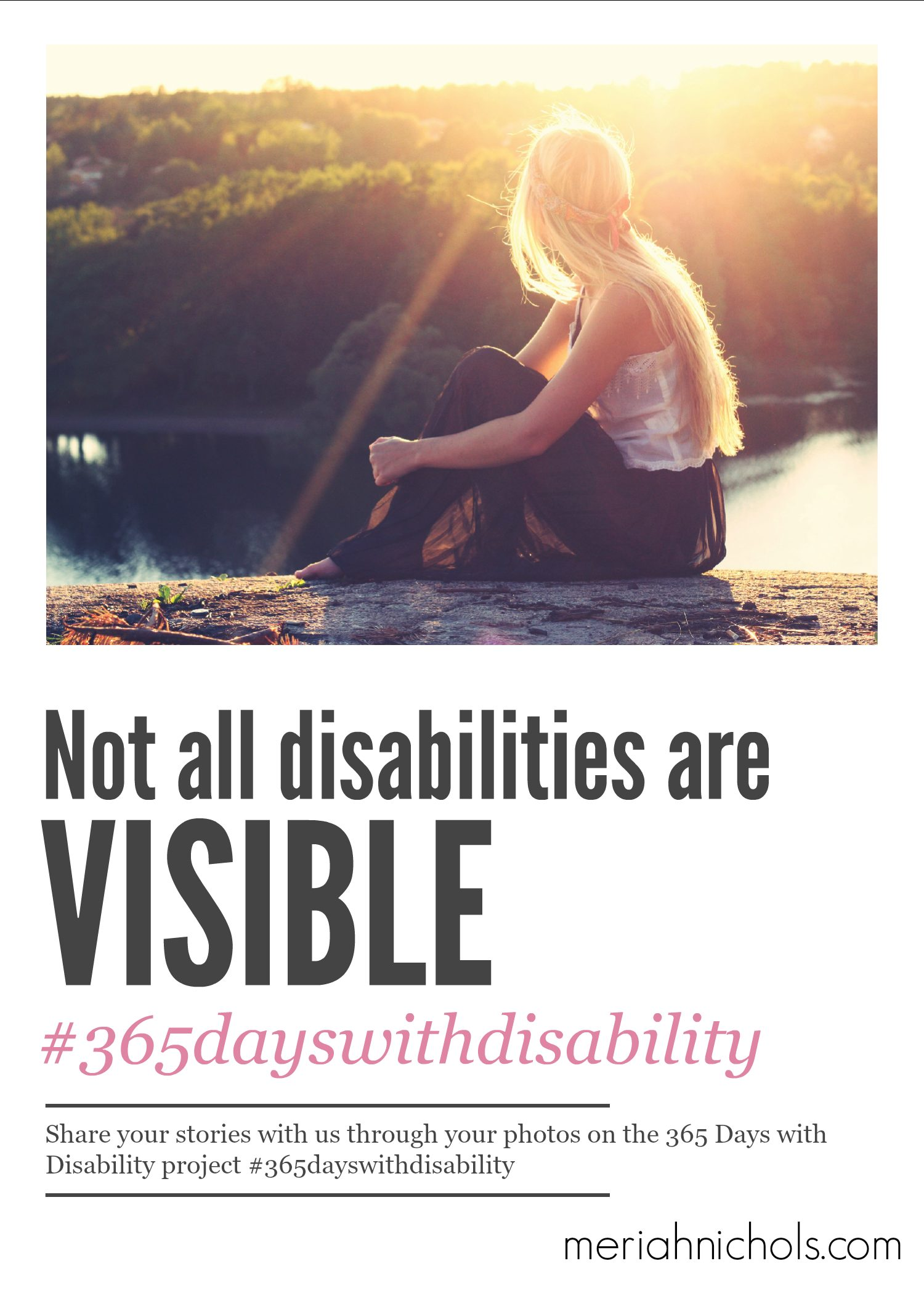 Featured photos from last week on the Instagram-based cross-disability project, 365 Days with Disability