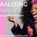 Normalizing Disability, One Gloriously Mundane Photo at a Time