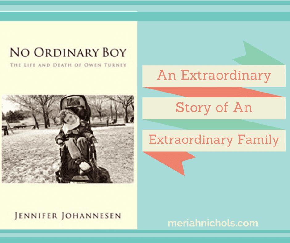 "Book Review: ""No Ordinary Boy"" by Jennifer Johannesen"