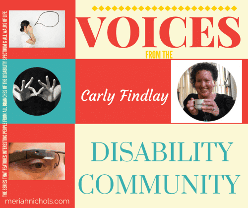 """Carly Findlay, activist, writer featured in """"Voices from the Disability Community"""" 