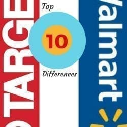 Target vs. Walmart: the difference between Target and Walmart, as represented in these top 10