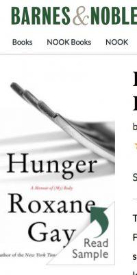 hunger a memoir