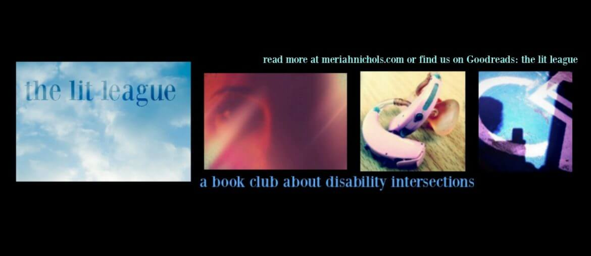 the lit league - a book club on disability intersections