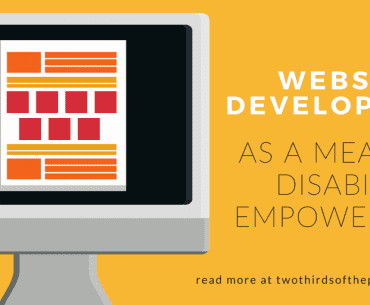 Website Development as a Means of Disability Empowerment