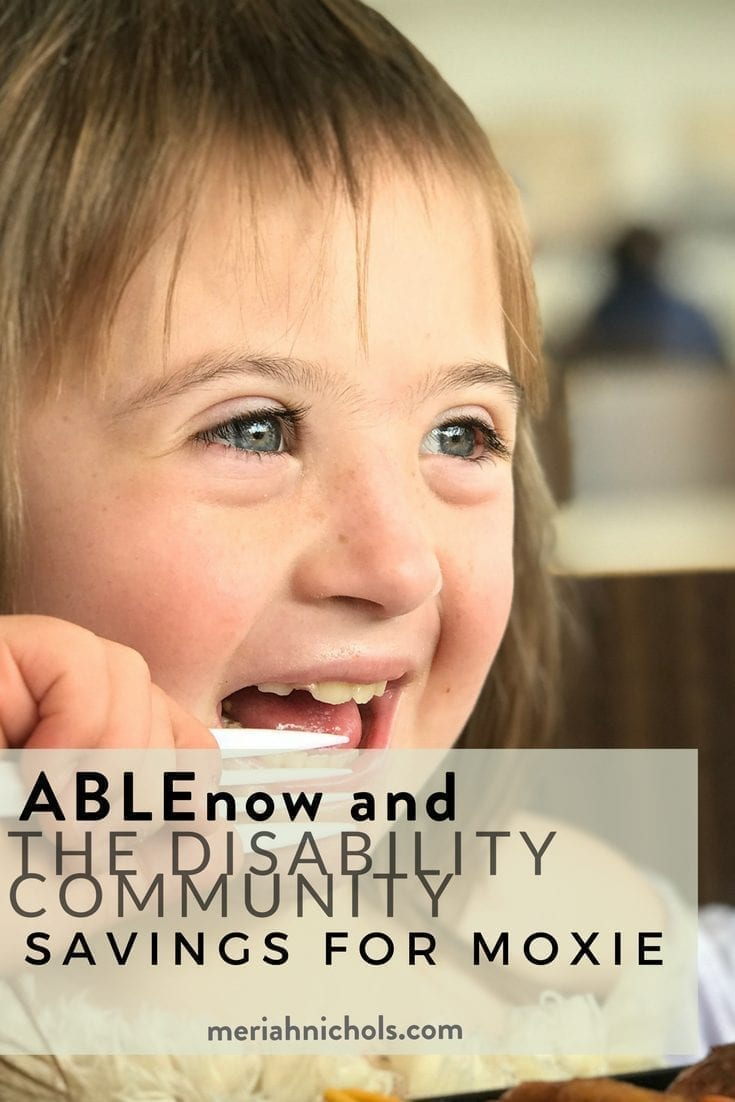ABLEnow and Saving for a child with a disability