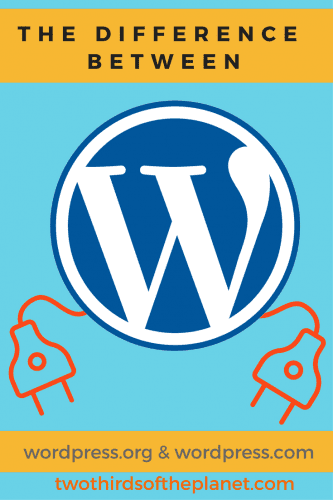 the difference between wordpress.org and wordpress.com: Ever want to know the difference between WordPress.org and WordPress.com? This post will explain the difference between the two clearly, and help you make the determination as to which is the better foundation for you to build your site on