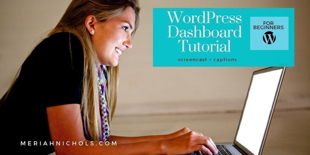 WordPress Dashboard Tutorial for Beginners (with Captions)