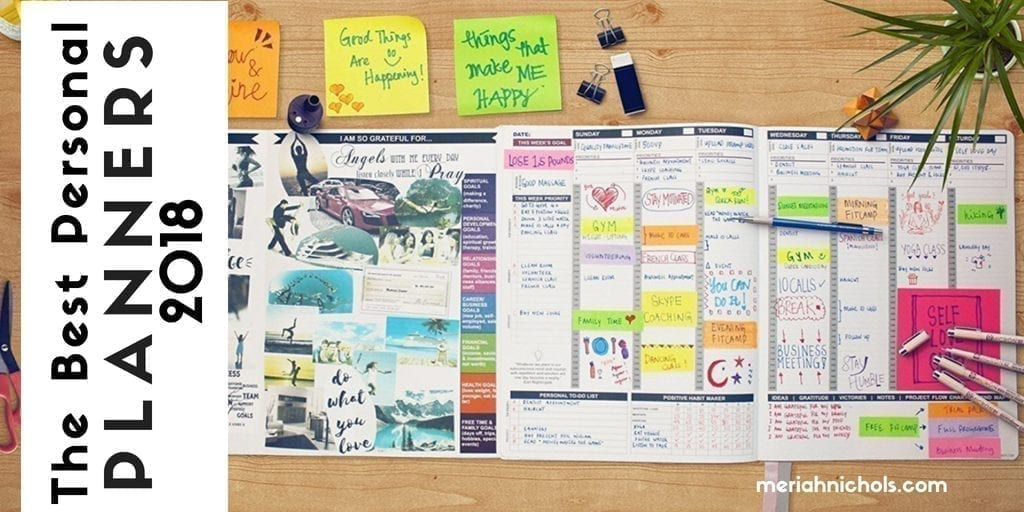 The Best Personal Planners for 2018