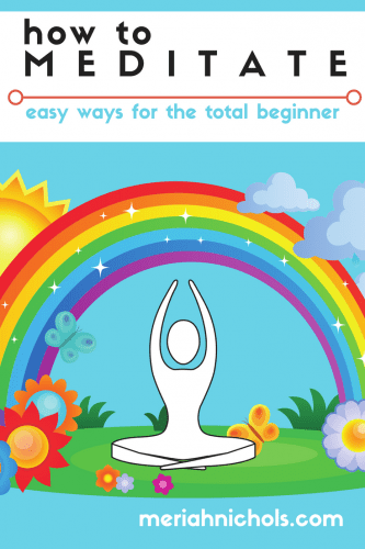 How to Meditate: Easy ways for the total beginner with a focus on disability