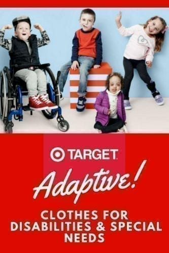 Target Adaptive Clothing Line Cat & Jack for Kids with Special Needs and disabilities