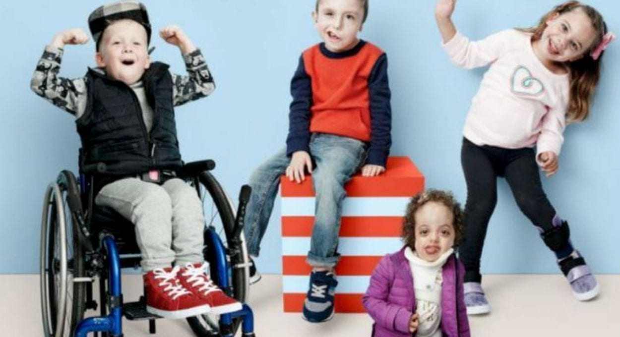 Target Adaptive clothing line for people with a disability or special needs
