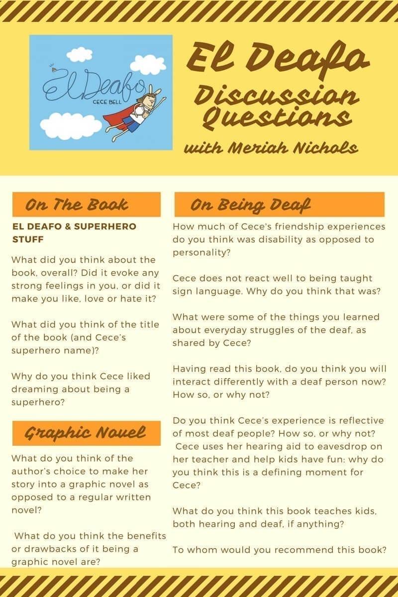 El Deafo Discussion Questions