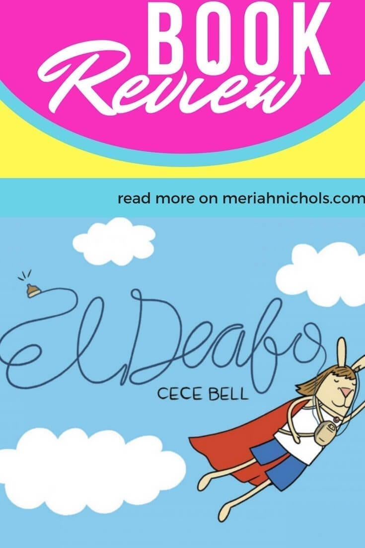 El Deafo Summary, Review and Discussion Questions by a Deaf Lady: because a graphic novel about a deaf girl is best reviewed by a deaf lady who gets it | book review | deaf awareness | hearing aids | hearing aid awareness | deaf pride | el deafo book review | el deafo summary | el deafo discussion questions | children's books | education | education printable |