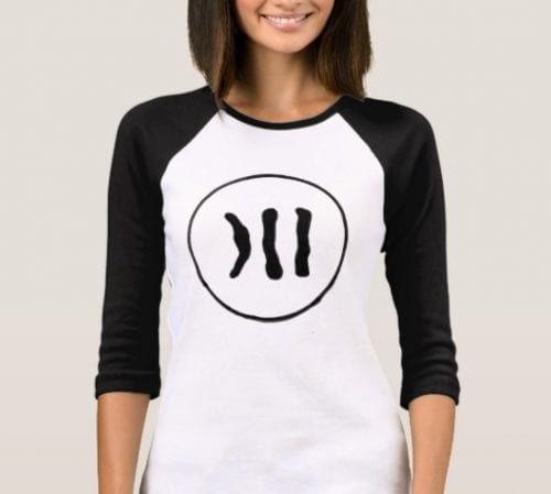 the down syndrome chromosome t-shirt