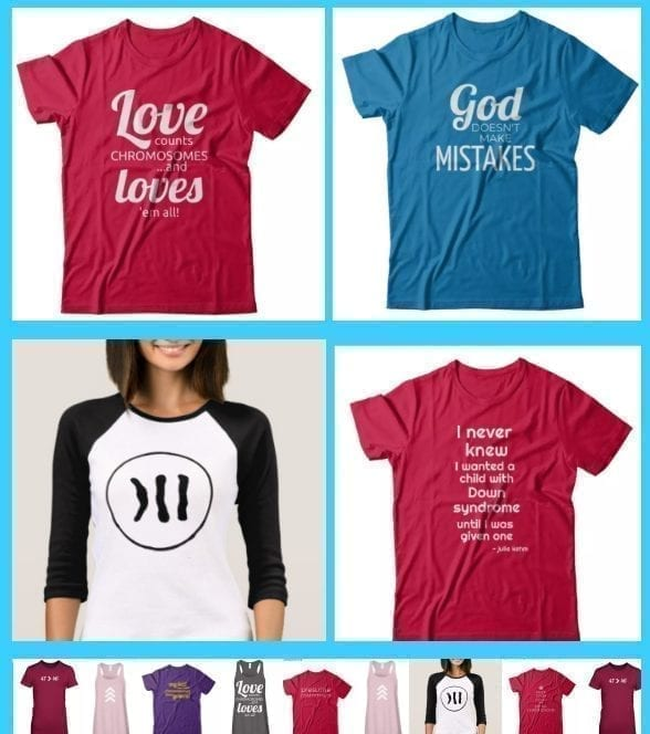 down syndrome t-shirts