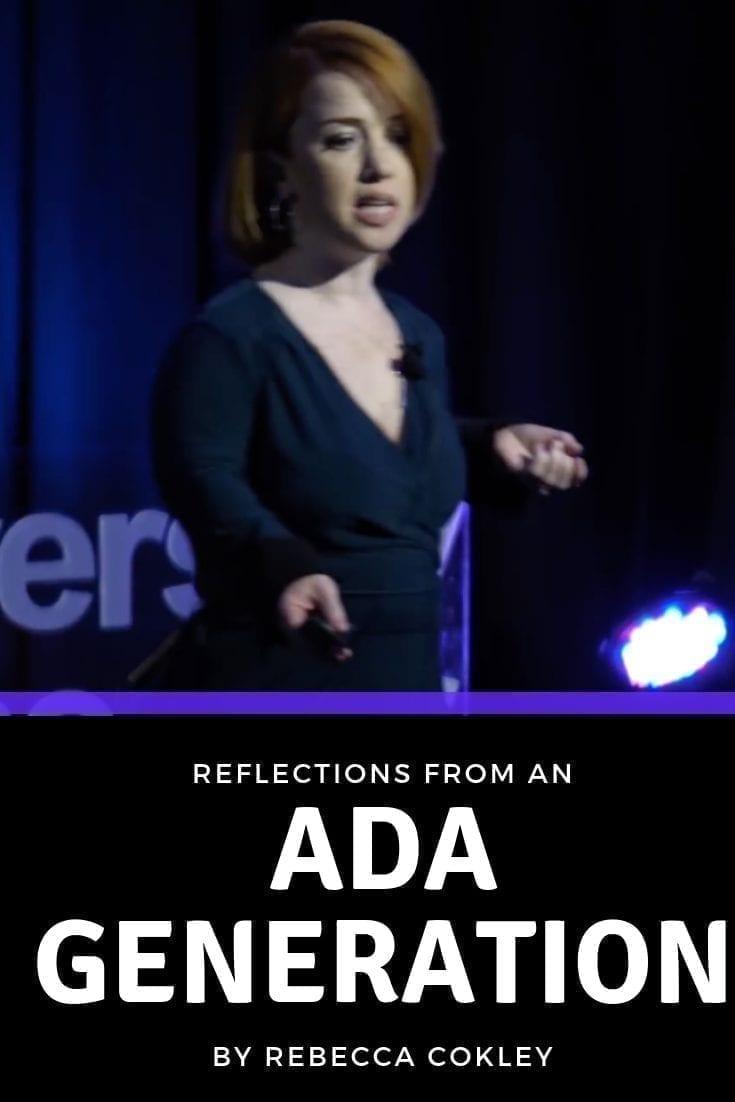 The ADA Generation, by Rebecca Cokley