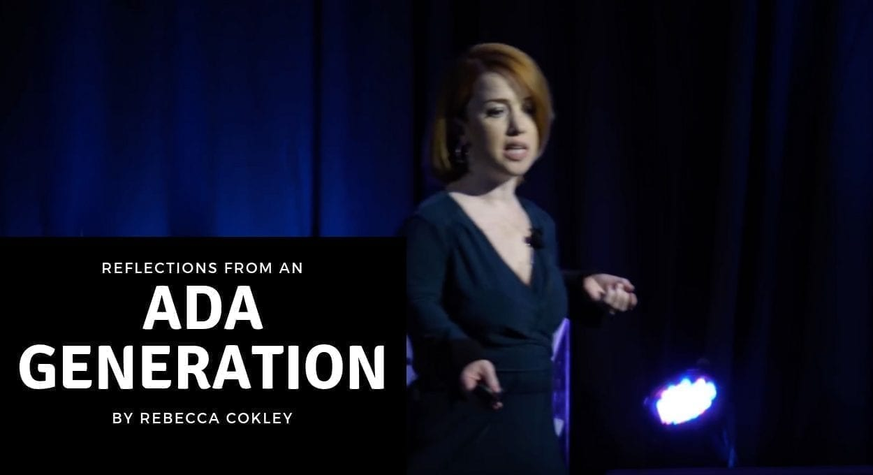 reflections from an ada generation by rebecca cokley
