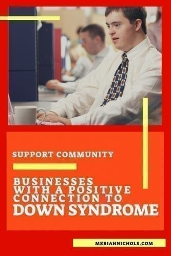 down syndrome businesses