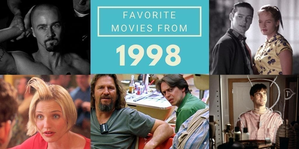 favorite movies from 1998