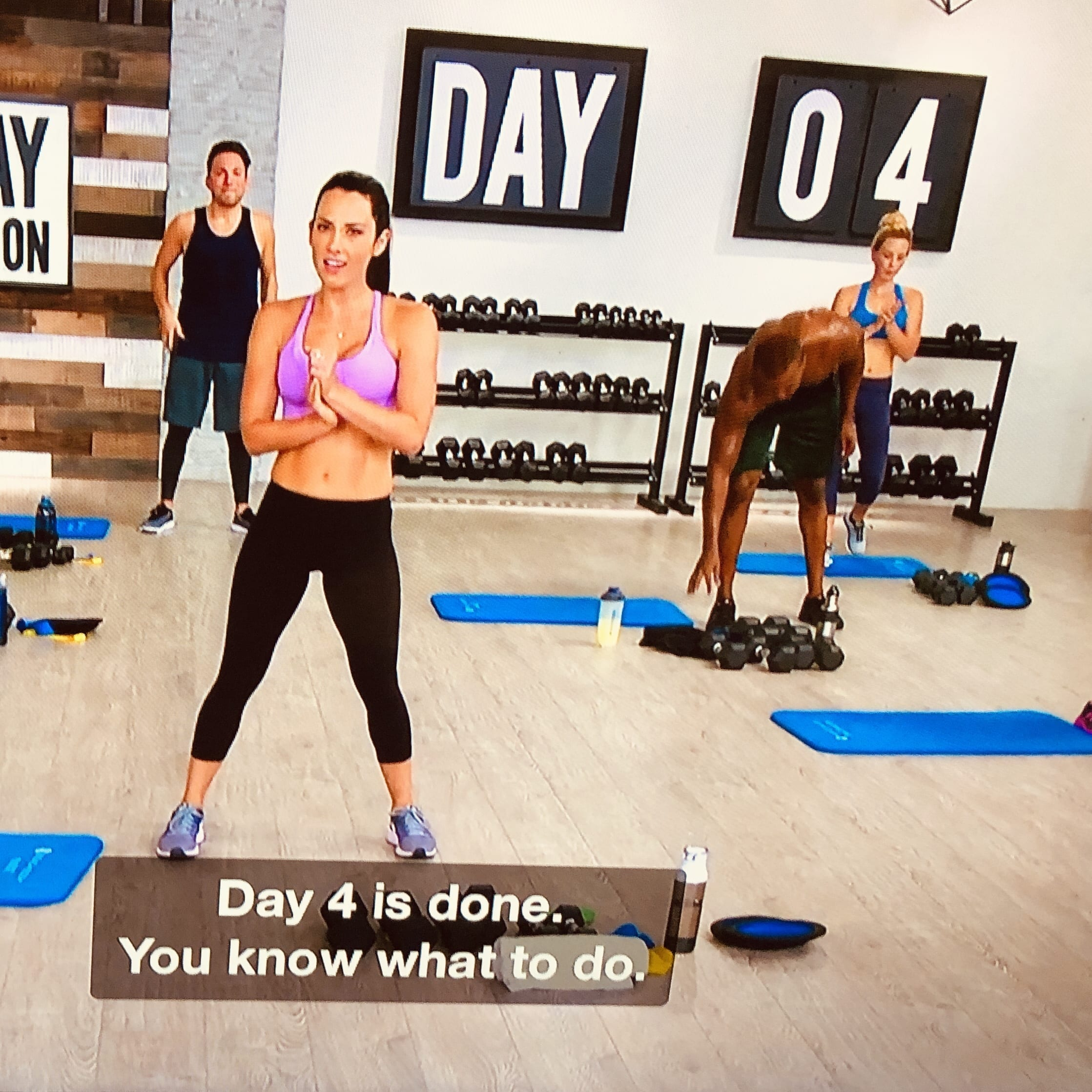 beachbody and captions- best deaf friendly fitness programs