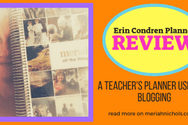 erin condren planner for bloggers