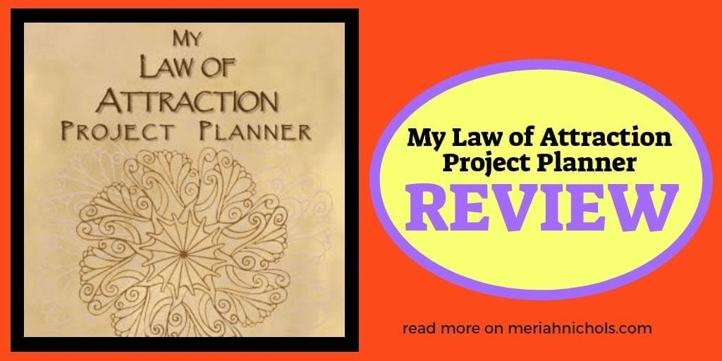 My Law of Attraction Project Planner: Review