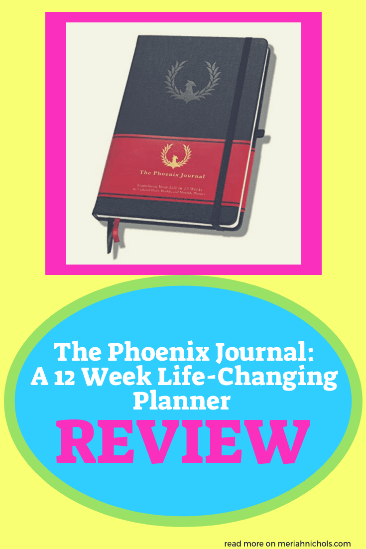 Break down your 4 major goals into bite-sized chunks with intuitive, measurable benchmarks in the Phoenix Journal. 12 weeks that can start anytime as its undated.