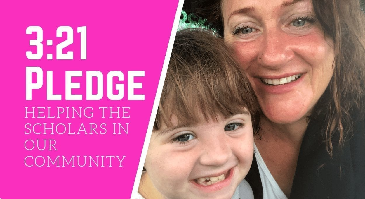 the 3:21 Pledge: helping Scholars with Down syndrome
