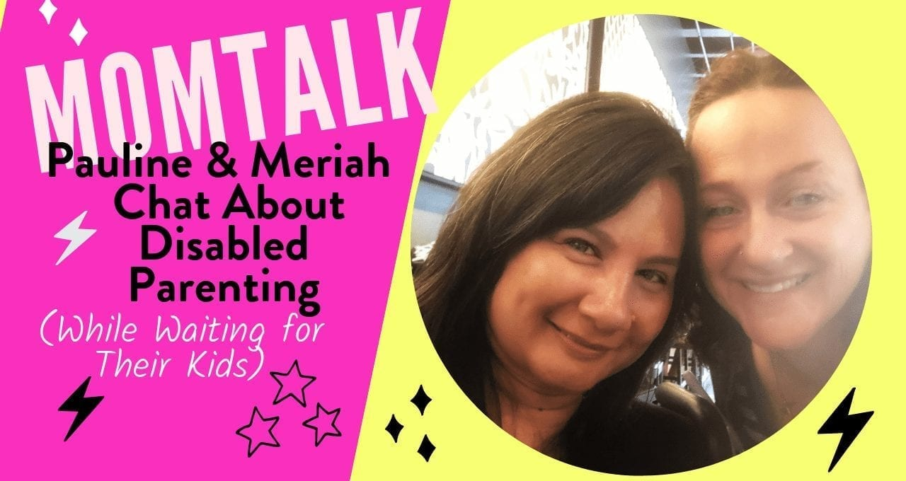 Mom Talk: Disabled Moms Interview Project Featuring Pauline Victoria