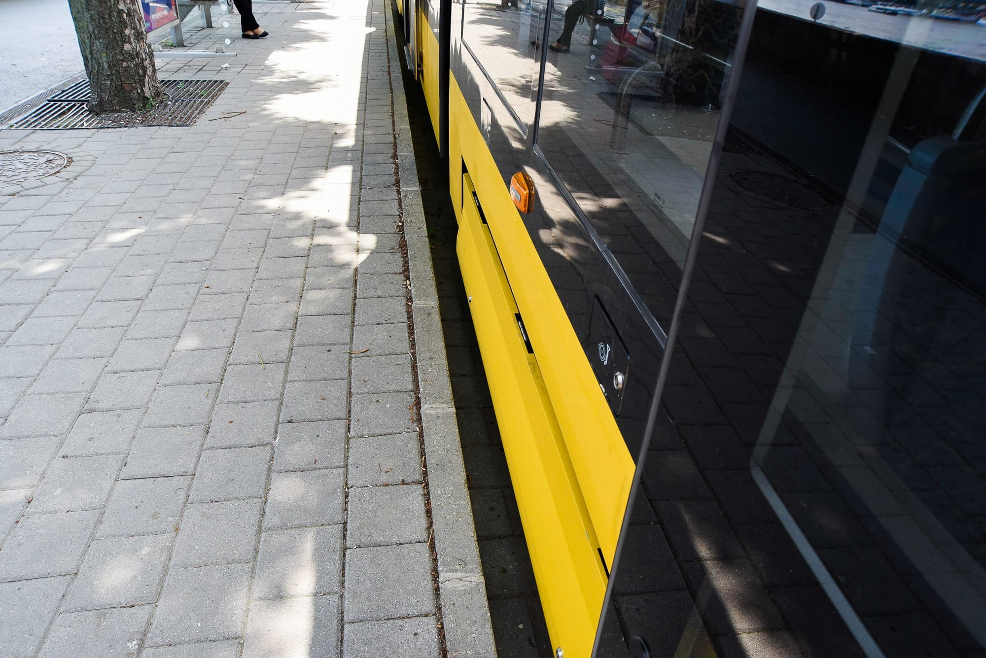 Budapest accessible tram