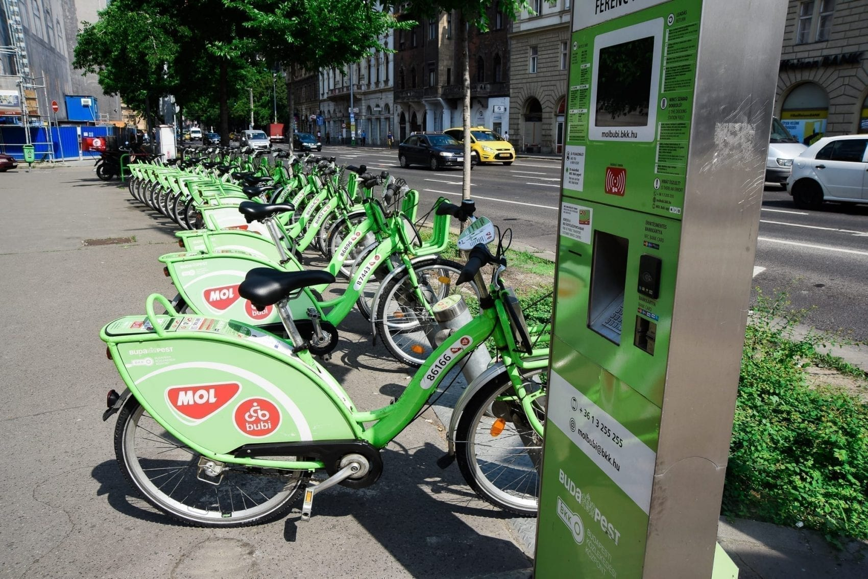 bike rental in budapest