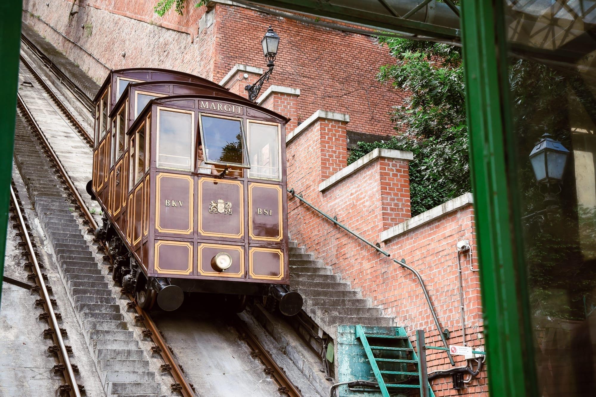 funicular tram in budapest
