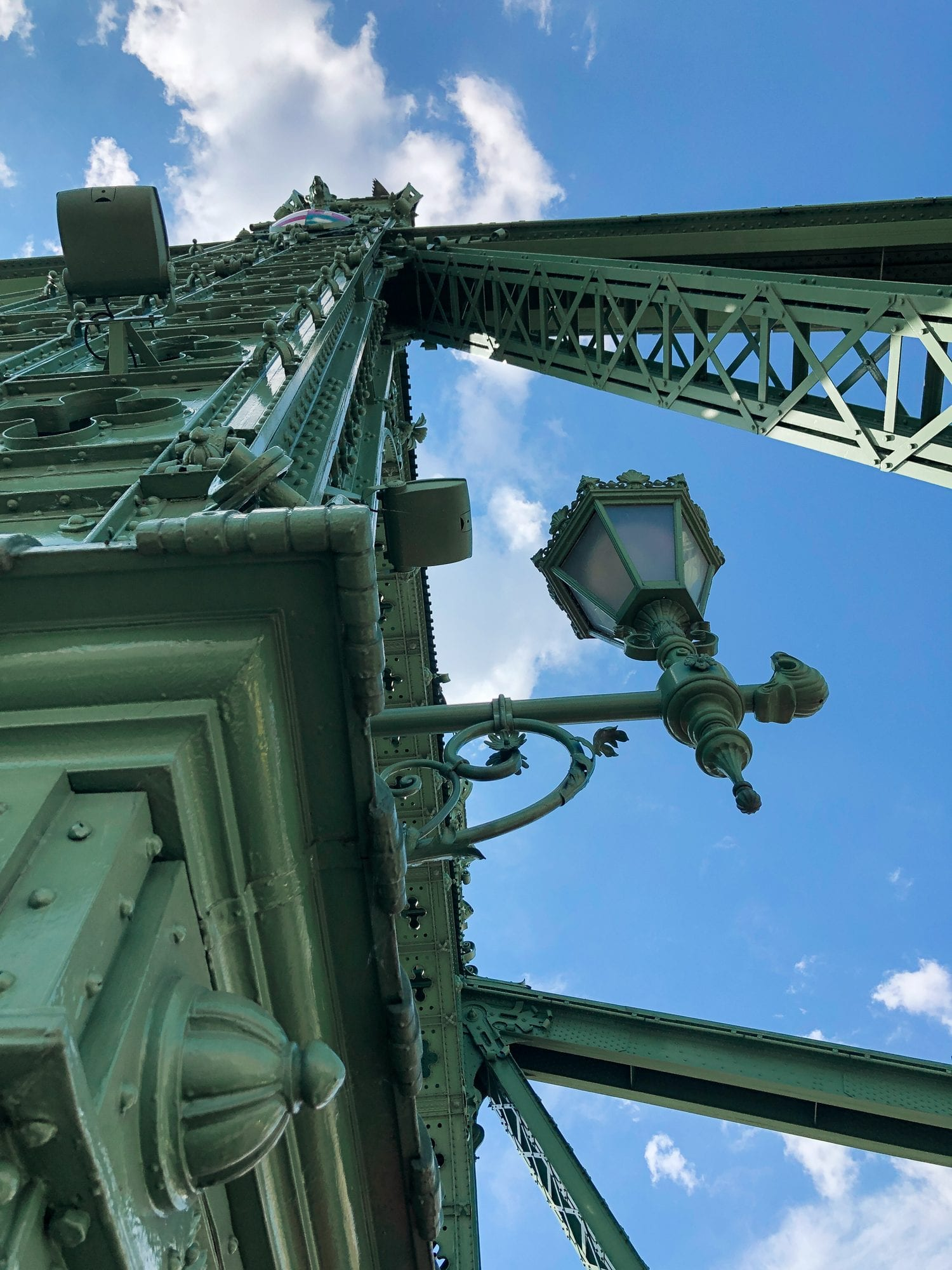 bridge details in budapest
