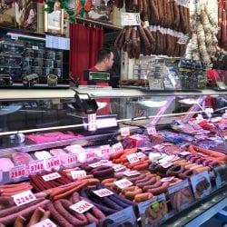 meat shop in grand market