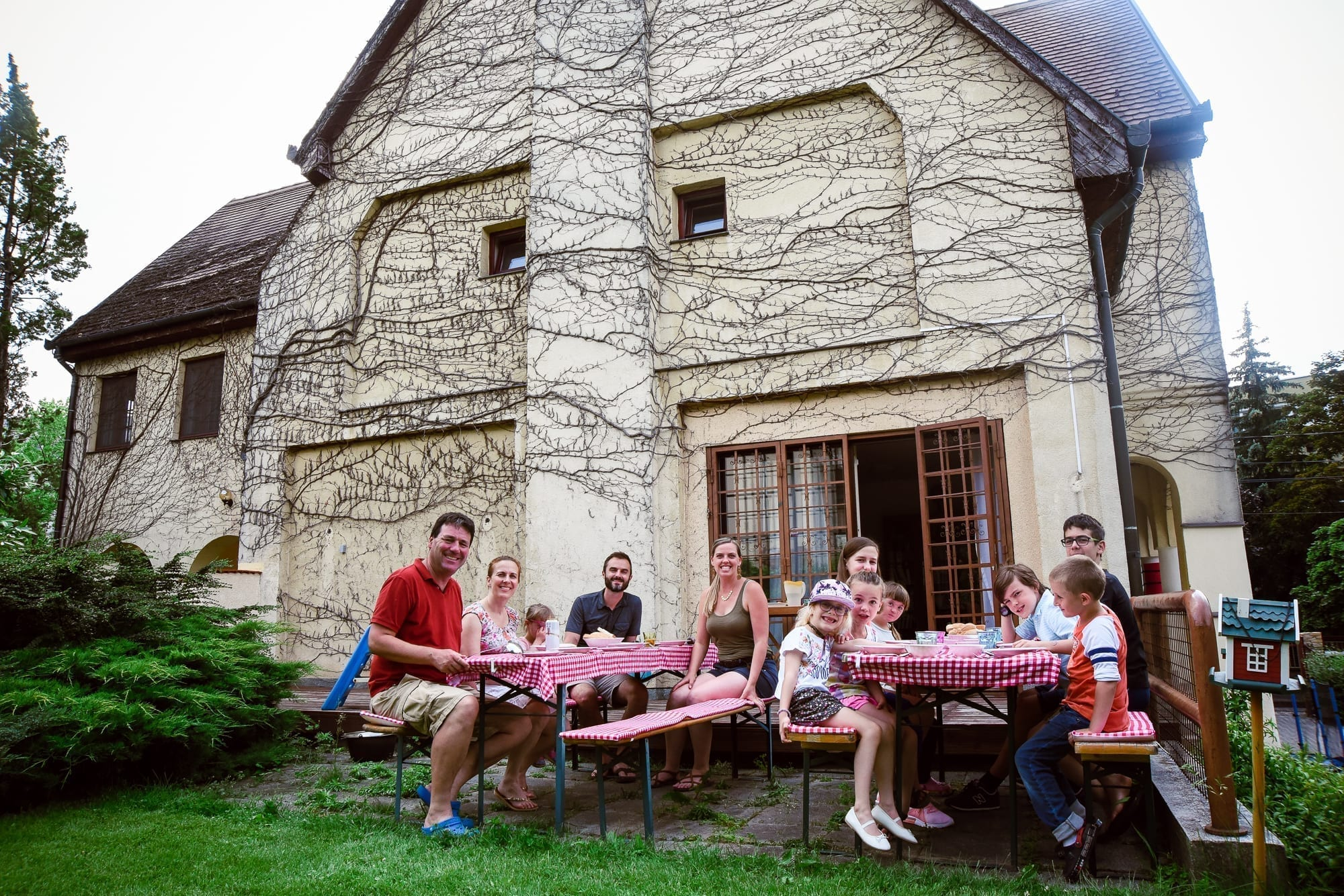 beautiful Hungarian summer meal
