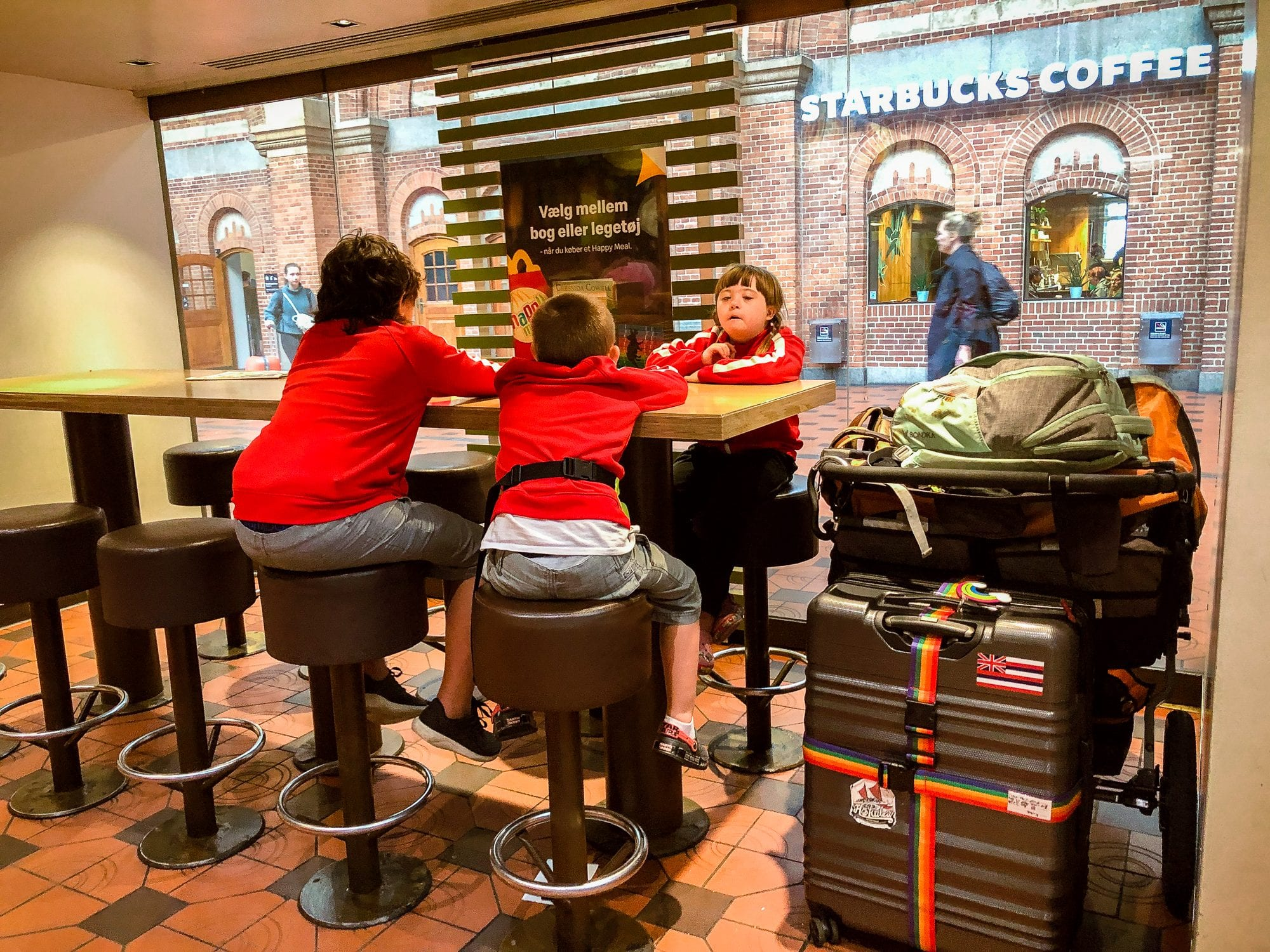 copenhagen train station mcdonalds