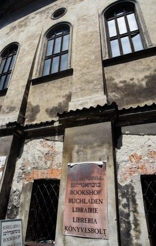 old door in krakow