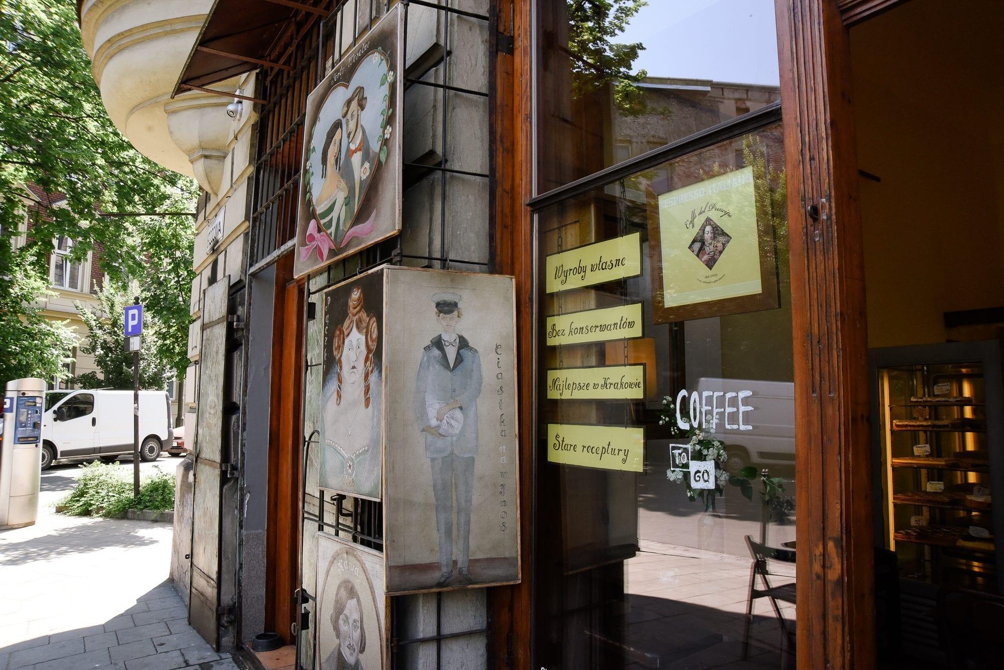 coffee shop in Krakow