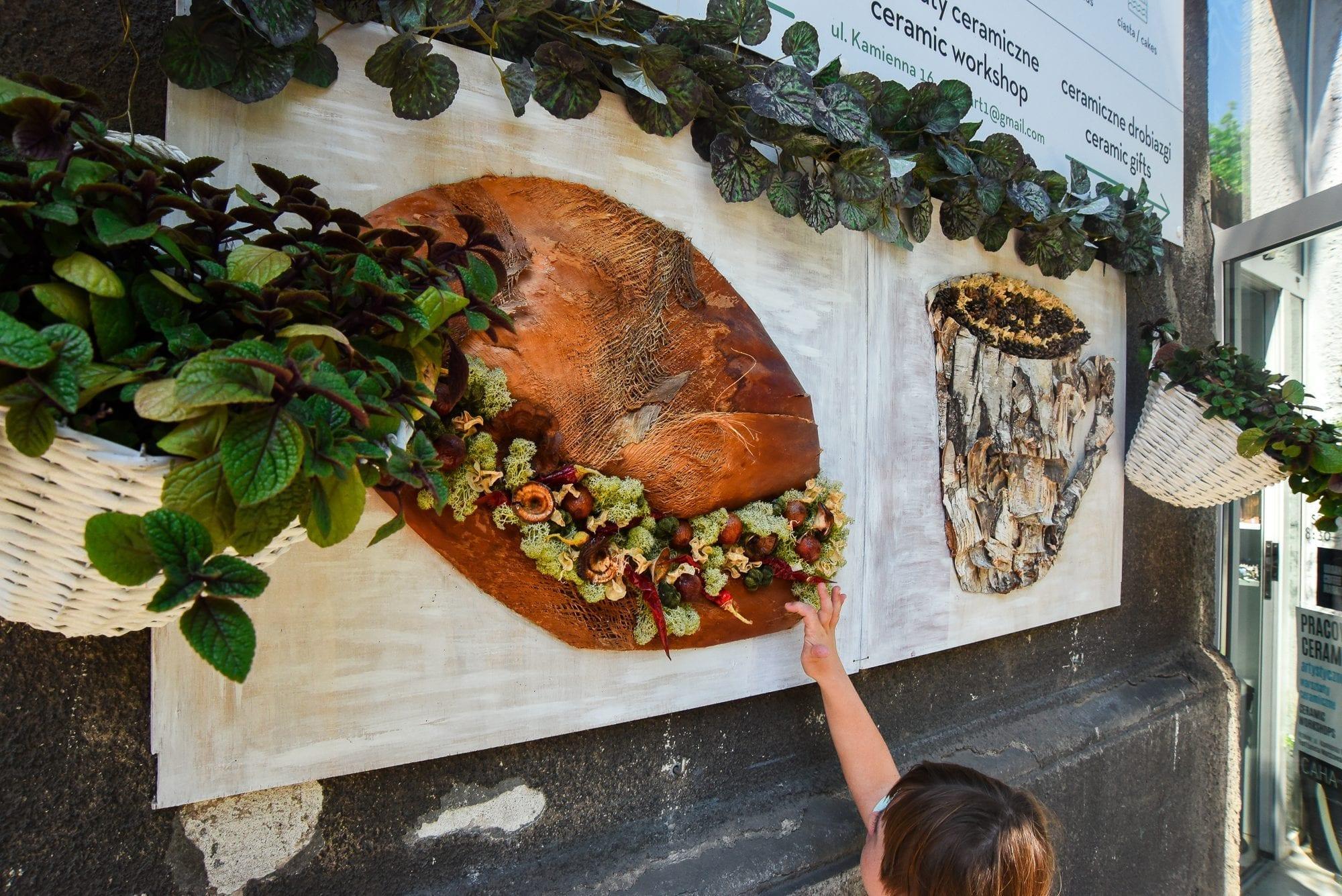 food art on the street