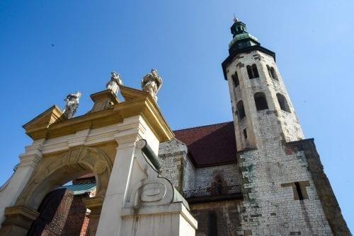 old church in krakow