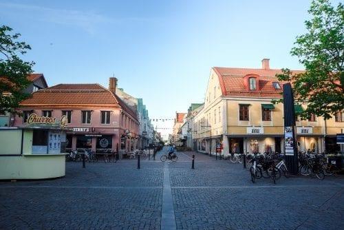 downtown Kalmar sweden