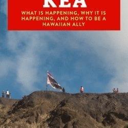 Mauna Kea, Being a Hawaiian Ally, and Teaching Kids to be Allies