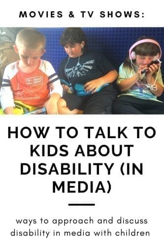 hot to talk to kids about disability (in media)