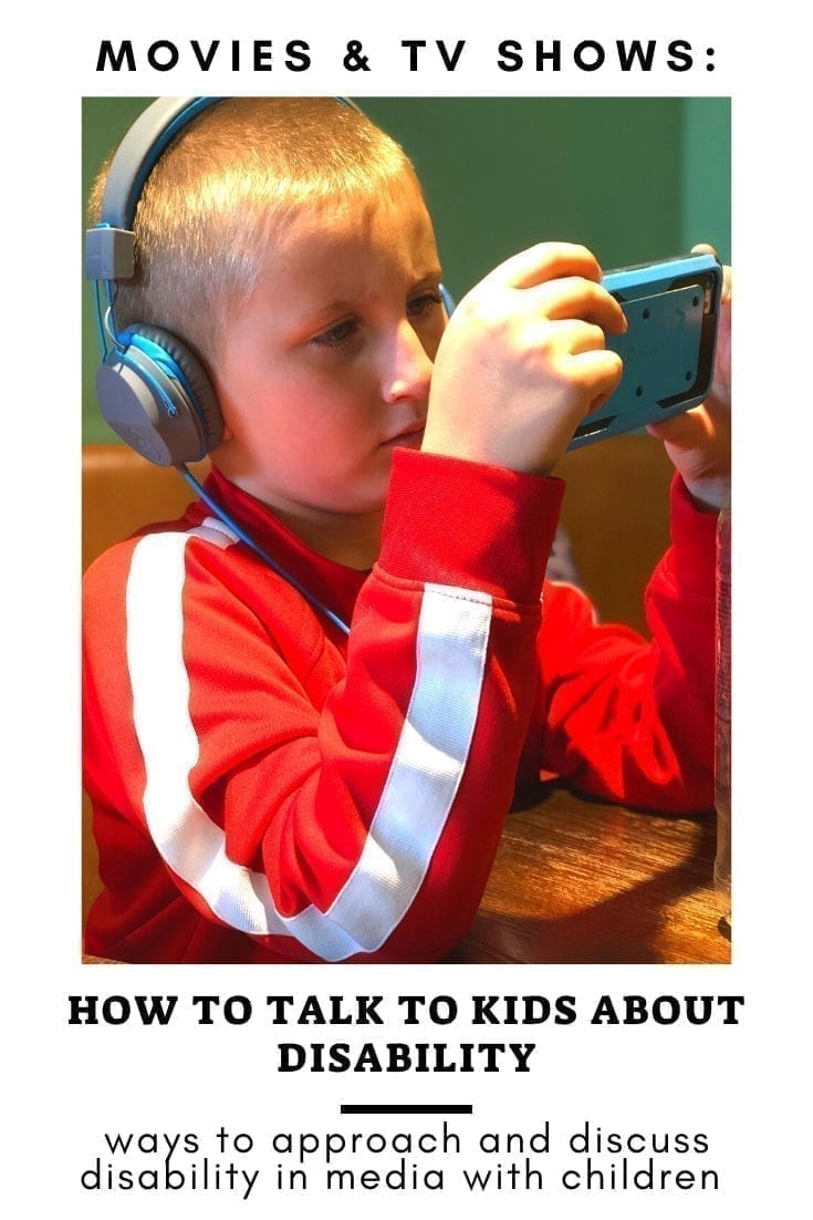 how to talk to kids about disability: ways to approach and discuss disability in media with children