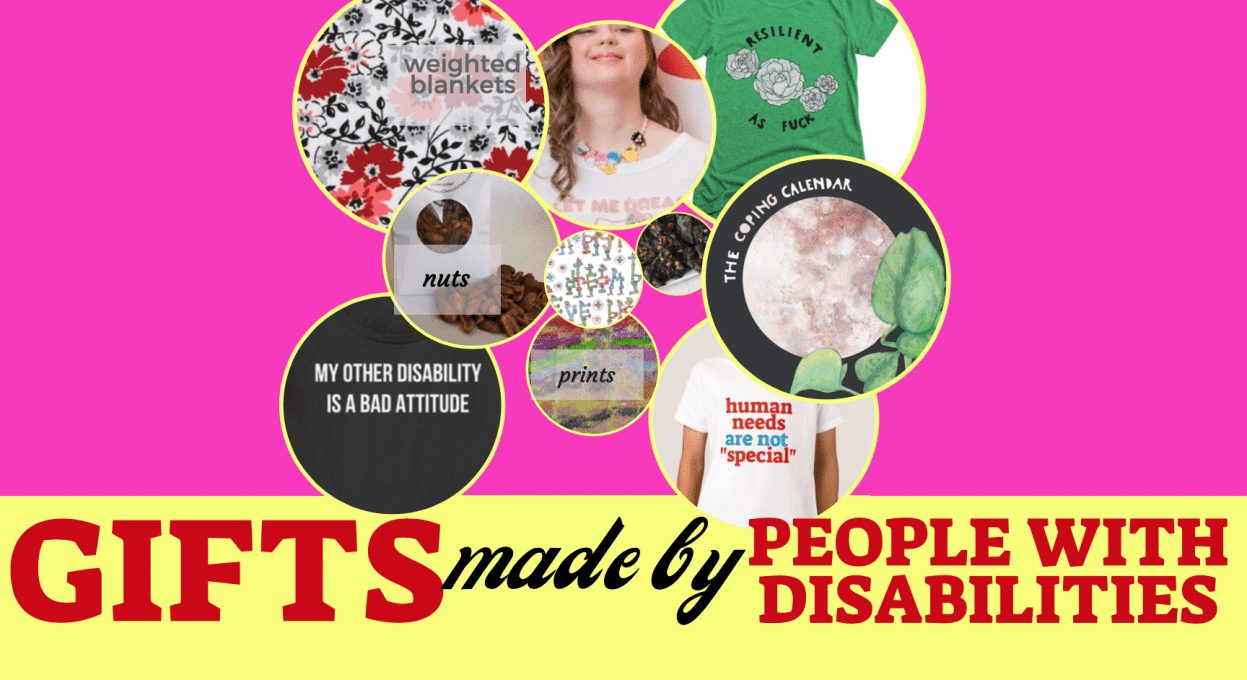 gifts made by people with disabilities