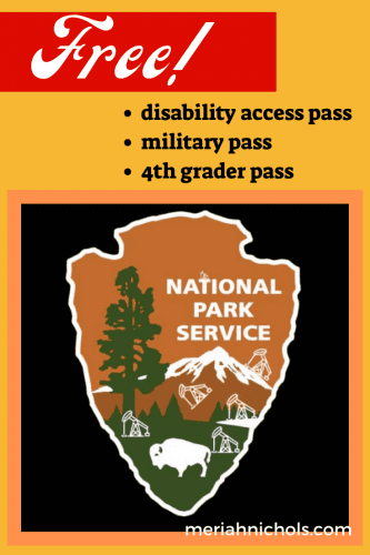 How to Get Your Free National Parks Disability Access Pass or the Military Pass or 4th Grade Pass
